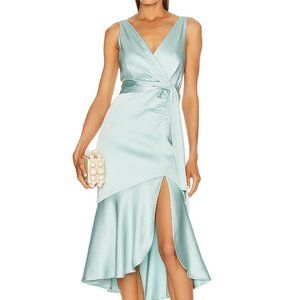 Jonathan Simkhai Mia Fluid Satin Dress Size 6